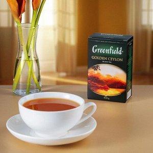 Черный чай листовой Greenfield Golden Ceylon, 100 г