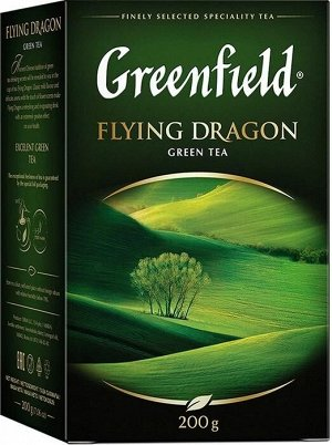 Зеленый чай листовой Greenfield Flying Dragon, 200 г