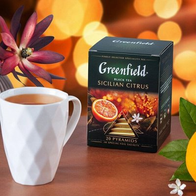"""☕ Яркая Феерия вкуса чая и чайных напитков +Новинки — Гринфилд Чай. * """"Не меняет мир. Меняет настроение! """""""