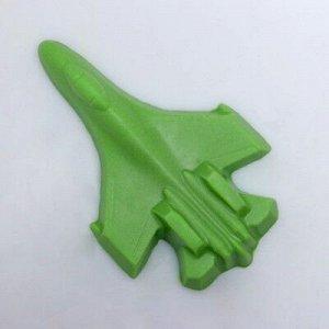 """Мыло фигурное """"Самолет"""" зелёный 45 г"""
