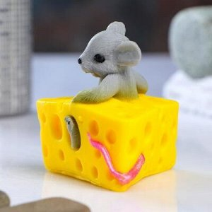 """Мыло фигурное """"Мышка в сыре"""" 70 г"""