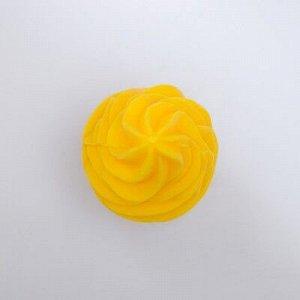 """Мыло фигурное """"Мороженка"""" жёлтая 60 г"""