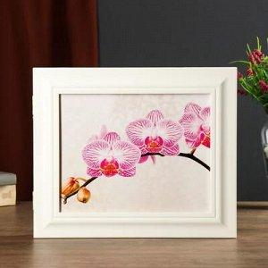 "Ключница ""Орхидея"" белый 26х31х4,5 см"