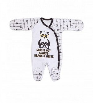 "Комбинезон швы наружу ""Panda""(интерлок 100% хлопок)   NEW!!!!!"