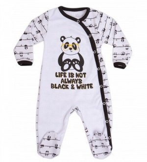 """Комбинезон  """"Panda""""(интерлок 100% хлопок)   NEW!!!!!"""