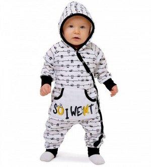 """Комбинезон  с капюшоном""""Panda""""(футер с начесом)   NEW!!!!!"""