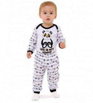 "Костюм боди и штанишки  ""Panda""(интерлок 100% хлопок)   NEW!!!!!"