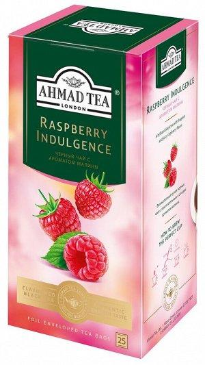 "Чай Ахмад ""Ahmad Tea"", Малиновое лакомство, 25 пак"