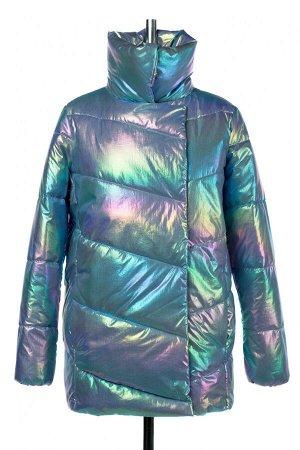 04-2733 Куртка демисезонная (синтепух 150) Плащевка Фиолетово-розовый