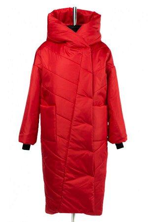 04-2729 Куртка демисезонная (синтепон 200) Плащевка красный