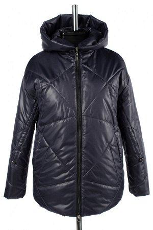 04-2695 Куртка женская демисезонная (Синтепон 150) Плащевка индиго