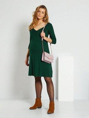 Короткое платье для беременных