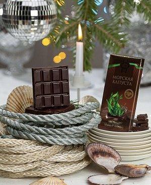 Шоколад темный с морской капустой ПК 1/100