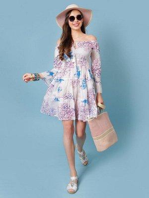 Платье 100% хлопок, FABRETTI, FRT2020507-5