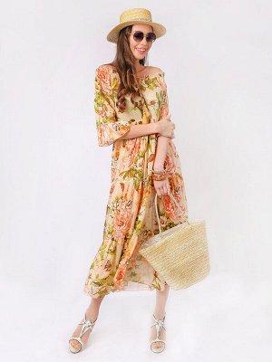 Платье 100% хлопок, FABRETTI, FRT2020512-13
