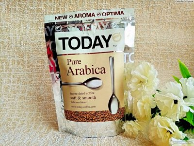 Лавка кофе и чая. Большой выбор! Быстрая доставка — Кофе Today растворимый\зерно — Растворимый кофе