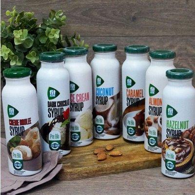 """ТМ """"ФитПарад"""" - продукты для здорового питания — Сиропы со стевией ТМ ФитПарад — Диетические напитки, соки и воды"""