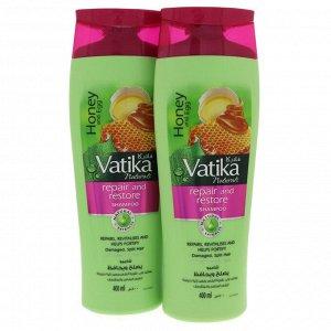 Шампунь для волос DABUR VATIKA Naturals Repair & Restore - Исцеление и восстановление 200мл