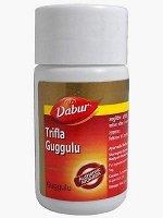 TRIFALA GUGGULU (Трифала Гуггул)  40 таблеток  (Dabur) БАД