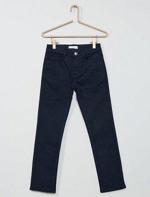 Узкие брюки из твила Eco-conception