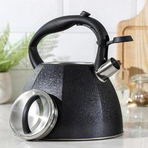 Чайник со свистком «Бархат», 4 л