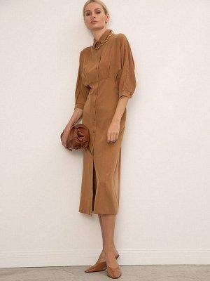 Однотонное платье PL1144/phlox