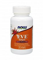 Мультивитамины NOW Eve Woman's Multi - 90 гел. капс.