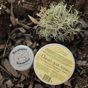 Пробник скраба для лица из скорлупы кедрового ореха, 15 гр