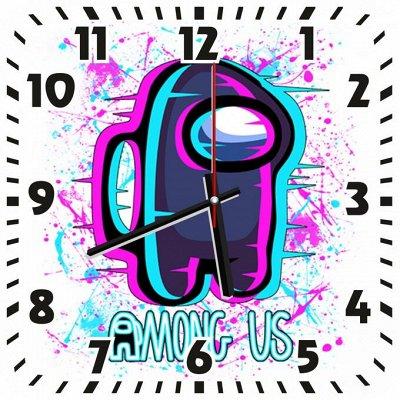 Мир прикольных футболок для всей семьи — Оригинальные настенные часы с картинками и надписями — Часы