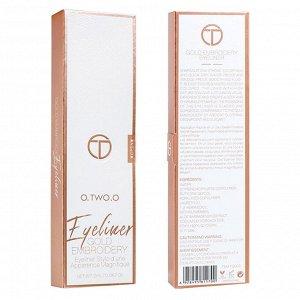 Подводка O.TWO.O Gold Embroidery Eyeliner 2 ml