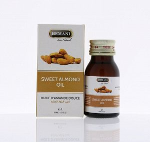 "Hemani Sweet Almond Oil / Хемани ""Масло сладкого миндаля"" 30мл."