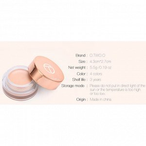 Праймер O.TWO.O Universal Cooling Eye Primer № 4 Warm Beige 5,5 g