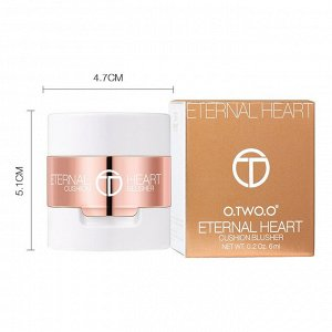 Румяна O.TWO.O Eternal Heart Cushion Blusher № CB04 6 ml
