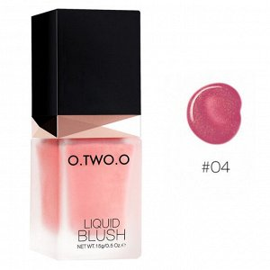 Жидкие румяна O.TWO.O Blush Liquid № 4 15 g