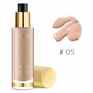 Тональный крем O.TWO.O Gold Invisible Cove Foundation № 5 30 ml