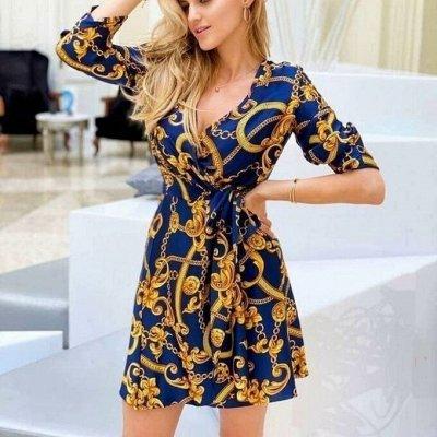 STильная одежда на каждый день! Дарим подарки! — Яркие платья! — Платья