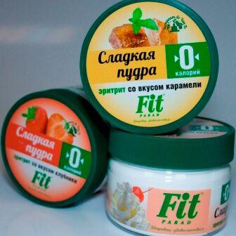 """ТМ """"ФитПарад"""" - продукты для здорового питания — Сладкая пудра ТМ """"ФитПарад"""" — Диетические кондитерские изделия"""