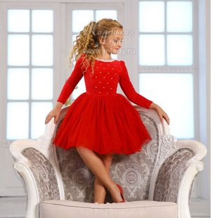 Платье из велюра пышное,длин.рук,стёган.лиф с бусинами Н.Г. м.Леди