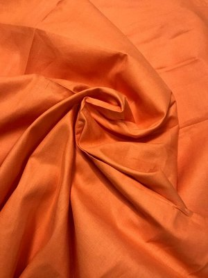Ткань Сатин - Оранжевый 0,5*1,6м