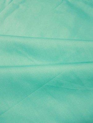 Ткань Сатин - Бирюзовый 0,5*1,6м