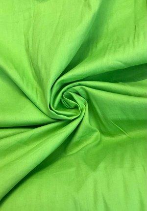 Ткань Сатин - Салатовый 0,5*1,6м