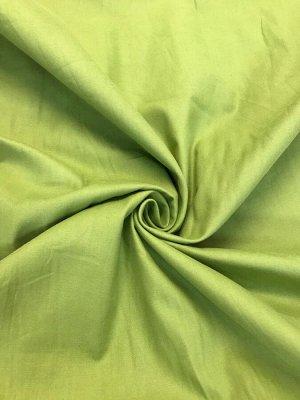 Ткань Сатин - Оливковый 0,5*1,6м