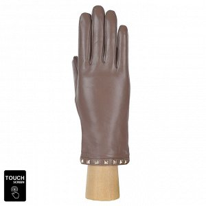 Перчатки, натуральная кожа, Fabretti S1.40-22 beige