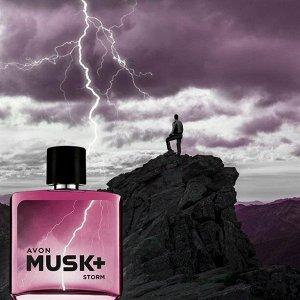 Туалетная вода Musk Storm+ для него, 75 мл