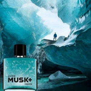 Туалетная вода Musk Freeze+ для него, 75 мл