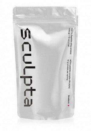 Сывороточный протеин для женщин Sculpta со вкусом клубники