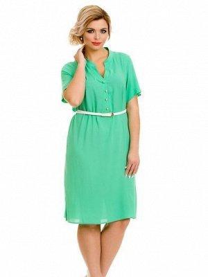 Платье 607 зеленый