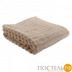 Полотенце банное Waves бежевого цвета Essential, 70х140 см