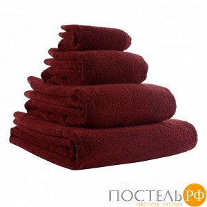 Полотенце банное бордового цвета Essential, 70х140 см
