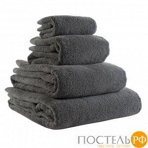 Полотенце банное темно-серого цвета из коллекции Essential, 70х140 см